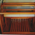 "40"" 8-harness oak loom - NEVER USED"