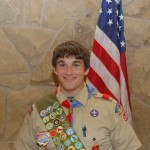 Ben is an Eagle Scout!